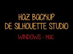 Tutorial para hacer una copia de seguridad de la librería de silhouette studio en mac y windows xp, windows 7, y superior. Podrás instalar el software en otr... Windows Xp, Silhouette Studio, Software, Mac, Youtube, Safety, How To Make, Tutorials, Youtubers