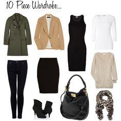 10 Piece Fall Wardrobe.