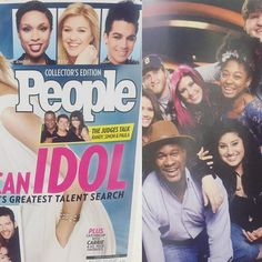 In. @peoplemag. My mind is blown - I don't ever read magazines, so someone had to tell me I was in it.  I am so grateful and proud to be a part of the @americanidol family.  It's hard to find the words, but I know I would not be where I am today and know the amazing people and fans I know without the Idol experience.  Thank you to Idol, the people who make the show happen, the roadies, the live show techs, the fans.  I have a place in my heart for each of you.  It's only the beginning. xx