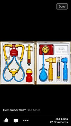 Doctors set 80s/90s toys. I had one of these sets or at least half of a set when I was younger... perhaps this is the reason I decided to be a nurse! :)