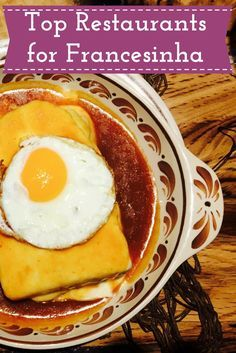 Get to know the Top 10 Restaurants for Francesinha, the most famous dish of Porto! #porto #francesinha #toprestaurants