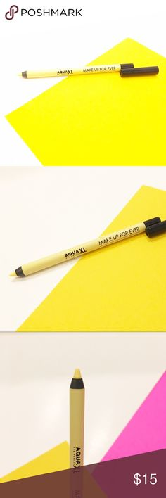 Makeup forever aqua xl eye pencil pastel yellow Brand new authentic item with no tags or seal - Matte pastel yellow Makeup Forever Makeup Eyeliner