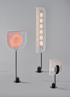 Science and art merging in Arnout Meijer's collection of lamps