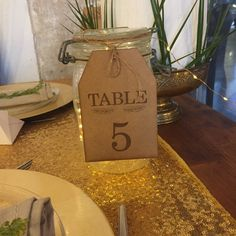 ETIQUETTE NUMÉROS DE TABLES EN BOIS - 1 à 15