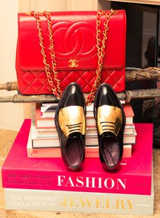Red & gold. www.thecoveteur.com/luisa-fernanda-espinosa