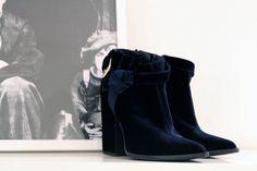 Velvet boots from Thakoon