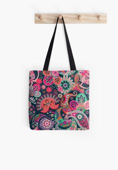 « Paysley multicolore- cachemire indien » par LEAROCHE Framed Prints, Canvas Prints, Buy Roses, Iphone Wallet, Floor Pillows, Chiffon Tops, Roses Garden, Shoulder Bag, Tote Bags