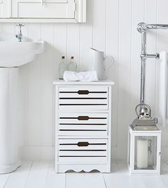 Bathroom Cabinets 30cm Wide hamptons cream large bathroom cabinet for storage furniture | home