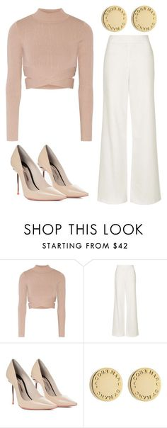 """""""Outfit Idea by Polyvore Remix"""" by polyvore-remix ❤️ liked on Polyvore featuring Jonathan Simkhai, Topshop, Sophia Webster and Marc by Marc Jacobs"""