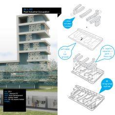 Post Industrial Occupation - Massimiliano Giberti Architecture