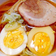 美味しかったです(●´ー`●) - 35件のもぐもぐ - 手打ち中華麺で醤油ラーメン by hananagi