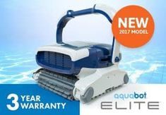 Aquabot Pool Vacuum Cleaners Elite In-ground Robotic Pool Cleaner Pool Vacuu
