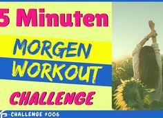 5 Minuten Morgen-Workout Challenge: So startest du deinen Tag voller Energie und Freude!