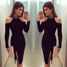 Black Prom Dress,Pencil Prom Dress,Fashion Homecoming Dress,Sexy Party Dress,Custom Made Evening Dress