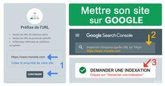 Mettre son site sur Google en 2019 : Tuto et conseil de referenceur web Google Font, Page Web, How To Make