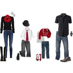 Mix blacks with red and white for a classic and modern feel; cute family outfits for pic Christmas Pictures Outfits, Family Christmas Pictures, Holiday Pictures, Holiday Outfits, Family Pictures, Christmas Pics, Birth Pictures, Xmas Pics, Winter Christmas