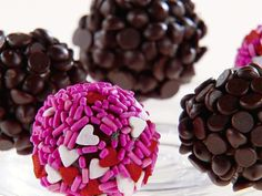 Brazilian-Style Truffles recipe from Giada De Laurentiis via Food Network