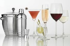 Happy hour at your place? Lenox Tuscany Classics barware collection