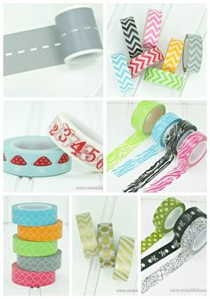 Washi tape is great for crafts and DIY of every kind. Come see our huge selection!