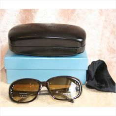 Karen Millen Diamonte Sunglasses New in Box with Case Bag Listing in the Karen Millen,Designer,Clothes, Shoes, Accessories Category on eBid United Kingdom