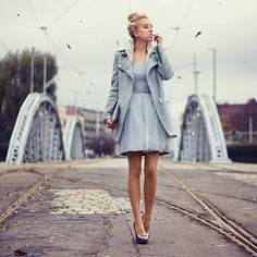 Dress BABY BLUE BY MERI WILD ♥., FREELANCE PHOTOGRAPHER / BLOGGER FROM POLAND