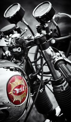 1963 Bsa Rocket Goldstar Print By Tim Gainey