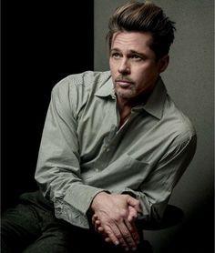 Brad Pitt for GQ February 2017