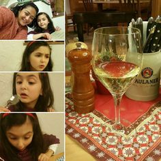 Witness the many faces of my child that happen during supper. I really enjoyed that glass of wine. #funnykid #winelover #weisswein #weissweinschorle #paulaner #paulanerbrauhaus #wiesbaden
