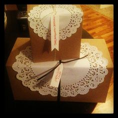 gift wrapping idea.
