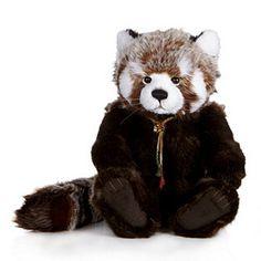 "Charlie Bears Collectable Roxie 23"" Plush Bear"
