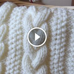 How Easy Knitting Cable ❄️ I want the world to see how easy cableknitting ca. : How Easy Knitting Cable ❄️ I want the world to see how easy cableknitting can be, slipp on and hold in front! Cable Knitting, Knitting Stitches, Knitting Yarn, Hand Knitting, Crochet Waffle Stitch, Knit Or Crochet, Free Crochet, Crochet Designs, Knitting Designs