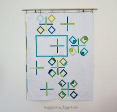 Twiggy and Opal: 'Cipher' :: The Latest Concoction #twiggyandopal #plusquilt #graphicquilt #modernquilt