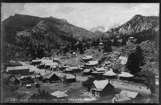 Estes Park ~ Colorado ~ 1907