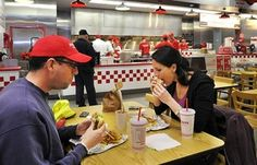 Burger joint becomes a political hot potato in Maine  Three of Maine's congressional delegates ask local Five Guys Burgers and Fries franchises to use Maine potatoes.