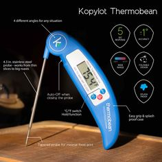 "The ""Thermobean"" Cooking Thermometer. The Only Thermometer You Need For Your Kitchen"