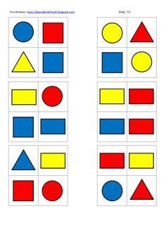 Autism Activities, Montessori Activities, Creative Activities, Preschool Activities, Learning Shapes, Kids Learning, Teaching Procedures, Lego Math, Shapes For Kids