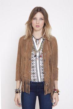 Visitá la nueva colección Invierno 16 en Rapsodia.com > Saco Goliat Cuero