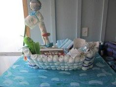 Diaper Boat and 10 other amazing diaper cakes -- the most useful and memorable baby shower gift ever!