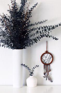 Handmade Dreamcatcher - Bohemian Christmas Present Idea - Modern Boho Decor - Boho Dream Catcher - Boho Wall Hanging - Bohemian Wall Art