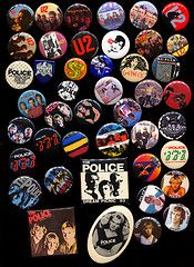 My buttons - buttons (gee, I had a bunch of these too!) Why be normal & your Mama dresses you funny were my favorites! A couple Damaging Groups 1980s Childhood, My Childhood Memories, Those Were The Days, The Good Old Days, Kitsch, Retro Vintage, Vintage Toys, 80s Kids, I Remember When
