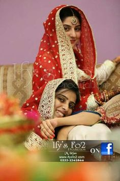Sanam with sister...