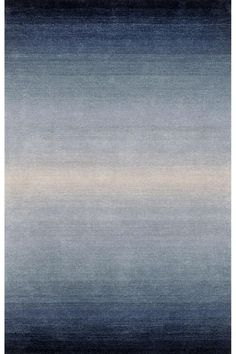 Meridian Area Rug II $669 (comes in green, purple, yellow or this blue)