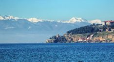 https://flic.kr/p/23r3C64 | Ohrid Lake, St. John and snowed mountains in the back | IMG_0614_5_6_tonemapped_nw_