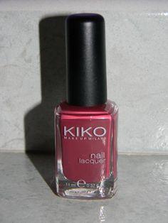 """Smalto n° 364 """"Cremisi Scuro"""" Kiko dupe """"April"""" Chanel"""