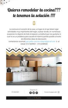 Quieres remodelar tu cocina???te tenemos la solución !!!!