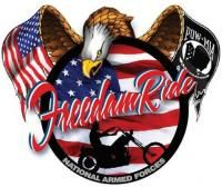 Parker, CO - May 20, 2017: National Armed Forces Freedom Ride. Bikers across the Nation will Ride to Honor and Show their Support for all Armed Forces Veterans of War, Pow, MIA, KIA, WIA and Our Troops.