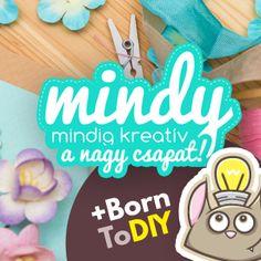 Laminált ( fóliázott ) bútorok átfestése egyszerűen - BornToDIY - Mert kreativitásra születtünk ! Origami, Creative, Vintage, Origami Paper, Vintage Comics, Origami Art
