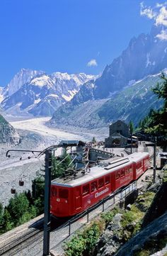 Memories of a Life time are created on the Montenvers Mer de Glace Train in Chamonix