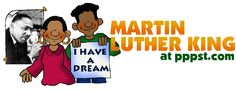 Martin Luther King Jr - FREE Presentations in PowerPoint format, Free Interactives and Games