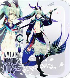 [CLOSED] Avian dragon adopts 2 by Piku-chan21 on DeviantArt